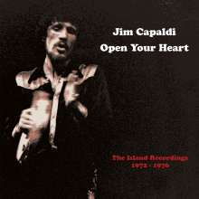 Jim Capaldi: Open Your Heart: The Island Recordings, 3 CDs und 1 DVD