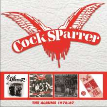 Cock Sparrer: The Albums: 1978 - 1987, 4 CDs