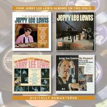 Jerry Lee Lewis: Four Jerry Lee Lewis Albums on Two Discs, 2 CDs