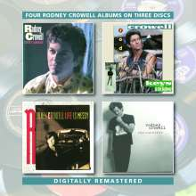 Rodney Crowell: Four Albums On Three Discs, 3 CDs