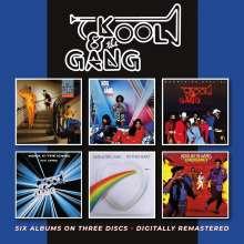 Kool & The Gang: Six Albums On Three Discs, 3 CDs