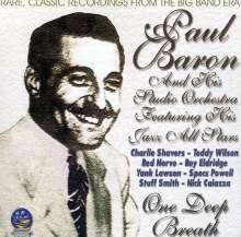 Paul Baron: One Deep Breath, CD