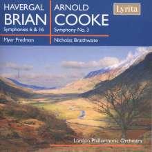 Havergal Brian (1876-1972): Symphonien Nr.6 & 16, CD