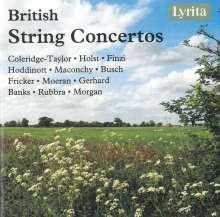 British String Concertos, 4 CDs