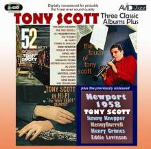 Tony Scott (1921-2007): Three  Classic Albums Plus, 2 CDs