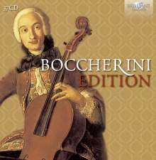 Luigi Boccherini (1743-1805): Luigi Boccherini-Edition, 37 CDs