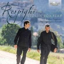 Ottorino Respighi (1879-1936): Sonaten für Violine & Klavier d-moll & h-moll, CD
