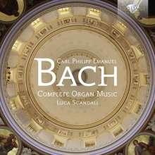 Carl Philipp Emanuel Bach (1714-1788): Sämtliche Orgelwerke, 2 CDs