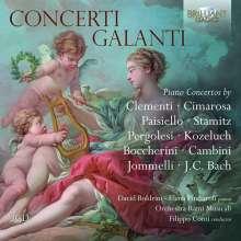 "Klavierkonzerte - ""Concerti galanti"", 3 CDs"