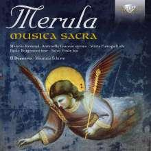 Tarquinio Merula (1590-1665): Geistliche Werke, CD