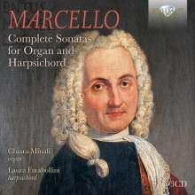 Benedetto Marcello (1686-1739): Sämtliche Sonaten für Cembalo & Orgel, 3 CDs