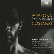 Nicola Antonio Porpora (1686-1768): Sonaten für Cello, Violine  & Bc Nr.1-6, CD