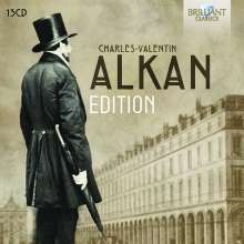 Charles Alkan (1813-1888): Alkan-Edition, 13 CDs