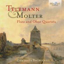 Johann Melchior Molter (1696-1765): Sonate a quattro MWV 9.19 & MWV 9.16, CD