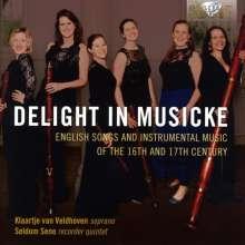 Delight in Musicke, CD