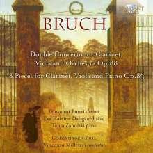 Max Bruch (1838-1920): Konzert für Klarinette & Viola op.88, CD