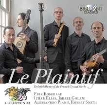 Le Plaintif, CD