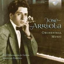Jose Arriola (1896-1954): Orchesterwerke, 2 CDs