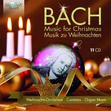 Bach - Music for Christmas, 11 CDs