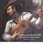 Domenico Rainer: Gitarrenwerke, CD