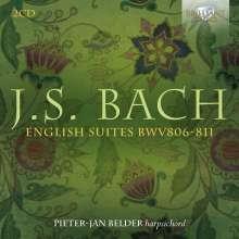 Johann Sebastian Bach (1685-1750): Englische Suiten BWV 806-811, 2 CDs