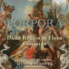 "Nicola Antonio Porpora (1686-1768): Kantaten für Sopran ""Dalla Reggia di Flora"", CD"