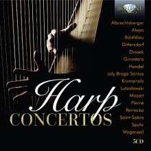 Harfenkonzerte, 5 CDs