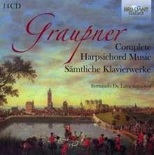 Christoph Graupner (1683-1760): Sämtliche Werke für Cembalo, 14 CDs