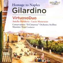 "Angelo Gilardino (geb. 1941): Konzert für 2 Gitarren & Orchester ""Concerto del Sepeitho"", CD"