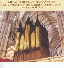 Große europäische Orgeln Vol.15, CD