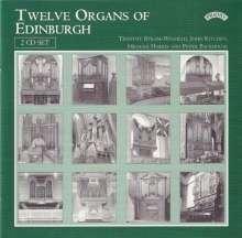 12 Organs of Edinburgh, 2 CDs
