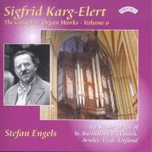 Sigfrid Karg-Elert (1877-1933): Orgelwerke Vol.6, CD