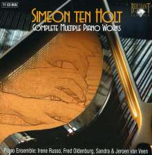 Simeon ten Holt (1923-2012): Complete Multiple Piano Works, 11 CDs
