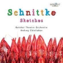 Alfred Schnittke (1934-1998): Esquisses (Ballettmusik), CD