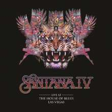 Santana: Live At The House Of Blues, Las Vegas (180g), 3 LPs und 1 DVD