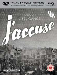 J'accuse (1938) (Blu-ray & DVD) (UK Import), 1 Blu-ray Disc und 1 DVD
