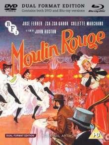 Moulin Rouge (1952) (Blu-ray & DVD) (UK Import), 1 Blu-ray Disc und 1 DVD