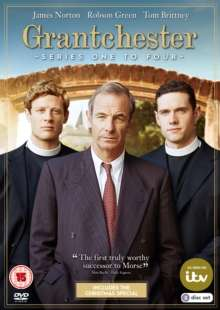 Grantchester Season 1-4 (UK Import), 6 DVDs
