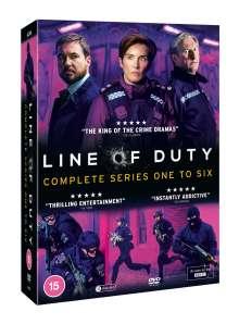 Line Of Duty Season 1-6 (UK-Import), 12 DVDs