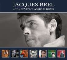 Jacques Brel (1929-1978): Seven Classic Albums, 4 CDs