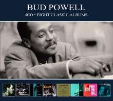 Bud Powell (1924-1966): 8 Classic Albums, 4 CDs