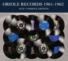 Oriole Records 1961 - 1962, 4 CDs