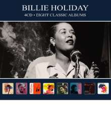 Billie Holiday (1915-1959): Eight Classic Albums, 4 CDs