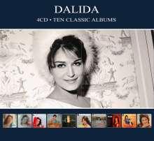 Dalida: Ten Classic Albums, 4 CDs