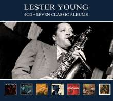 Lester Young (1909-1959): Seven Classic Albums, 4 CDs