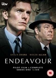 Endeavour Season 1-6 (UK Import), 14 DVDs