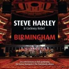 Steve Harley & Cockney Rebel: Birmingham: Live With Orchestra & Choir 2012, 2 CDs