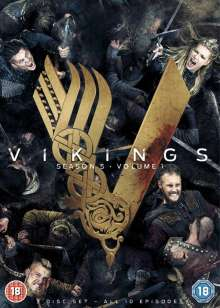 Vikings Season 5 Box 1 (UK Import), 3 DVDs