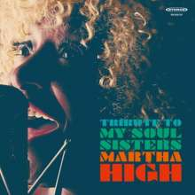 Martha High: Tribute To My Soul Sisters, CD