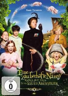 Eine zauberhafte Nanny: Knall auf Fall in ein neues Abenteuer, DVD